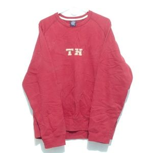 Tommy Hilfiger Jeans Red Crewneck Sweater Large